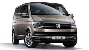 Volkswagen Caravelle de alquiler