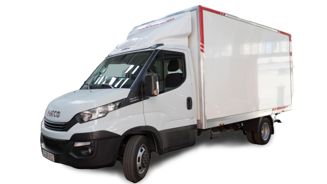 IVECO DAILY caja 22 m³
